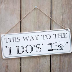 This way to the I do´s